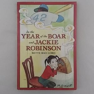 In the Year of the Boar and Jackie Robinson Book